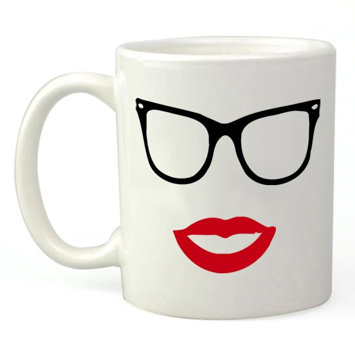 Lipstick With Glasses