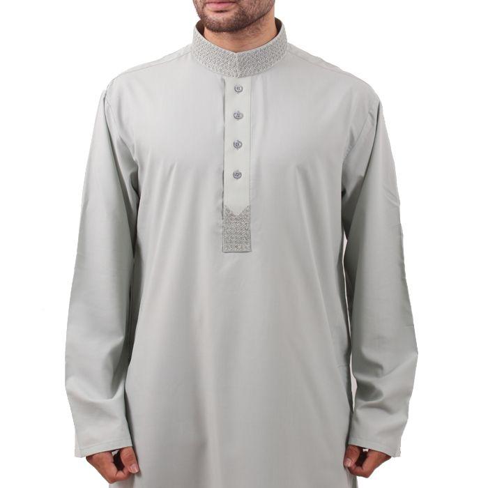 Light Grey Kurta Shalwar