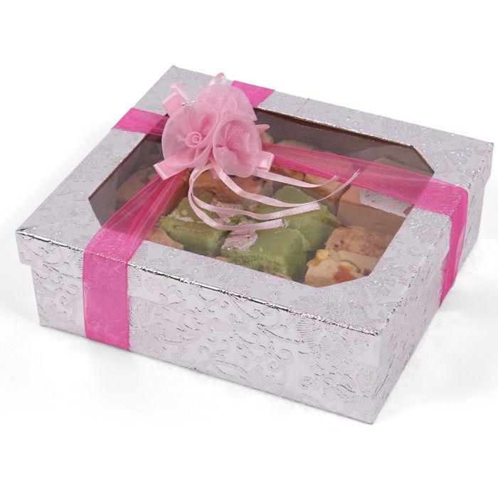Mix Barfi Silver Box