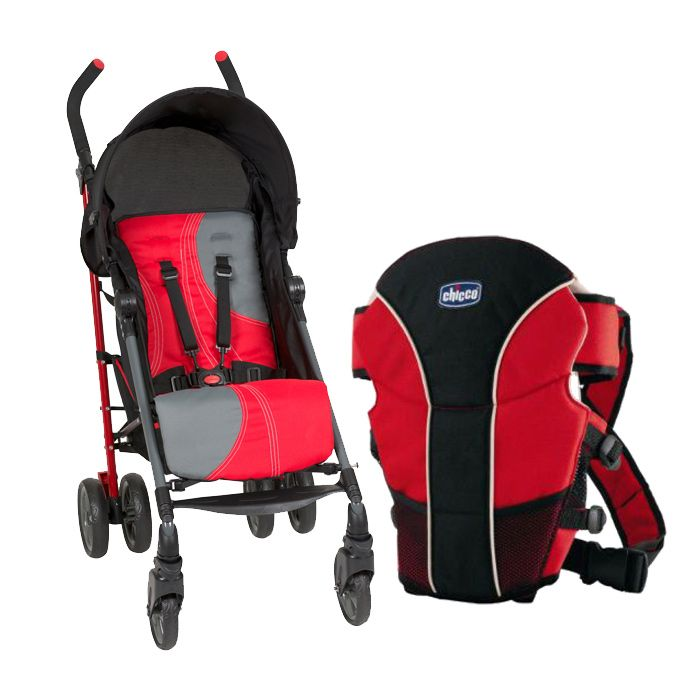 Baby Carrier With Euro Ride Stroller