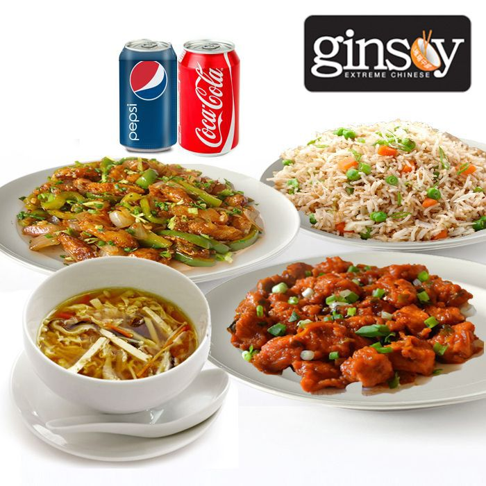 Ginsoy Chinese Deal 1 for 2 Persons