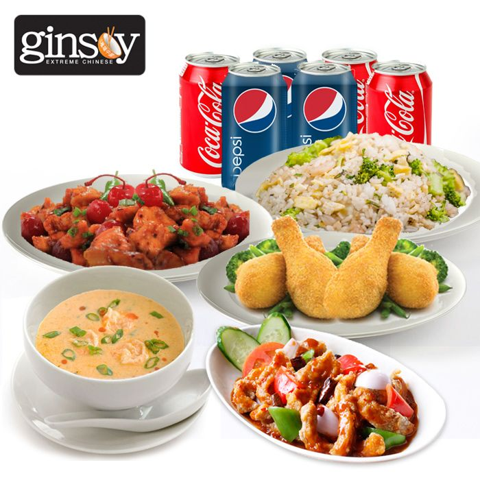 Ginsoy Chinese Deal for 6 Persons