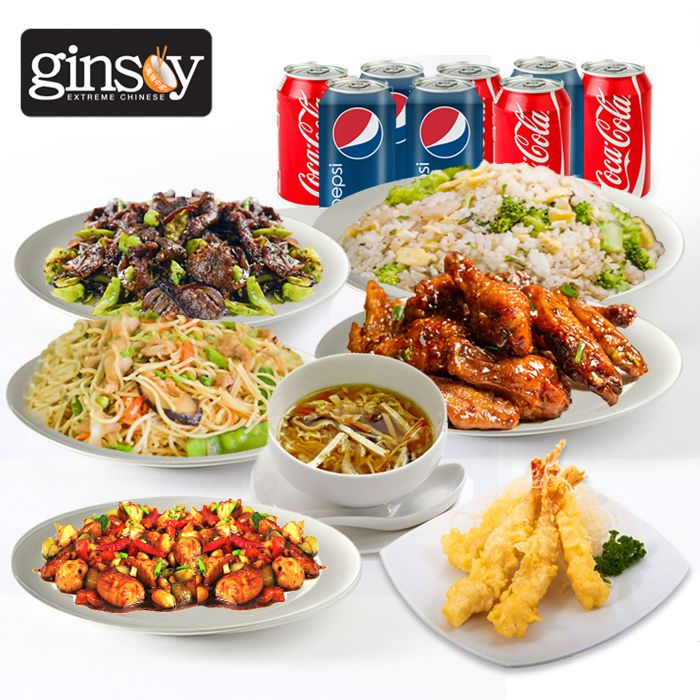 Ginsoy Chinese Deal for 8 Persons