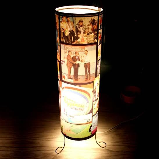 Large Picture Print Digital Lamp