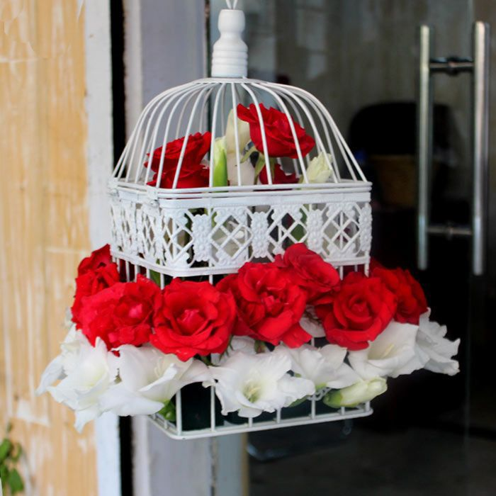 Hanging Flower Cage
