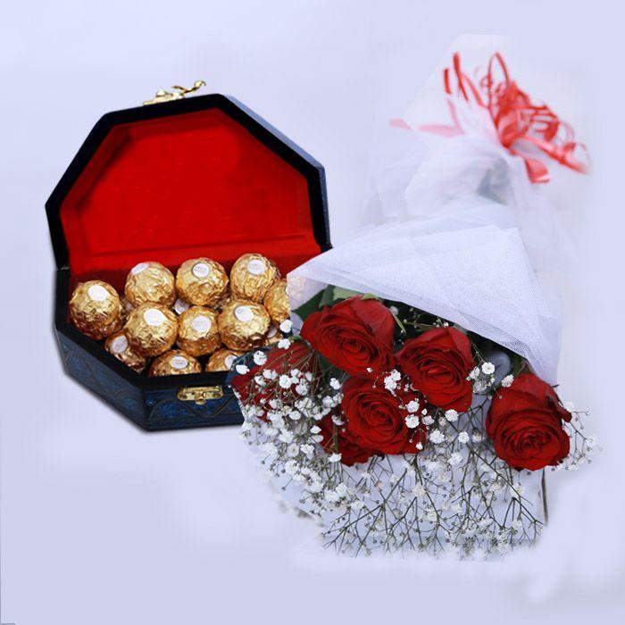 Essence of Romance - Roses & Chocolates