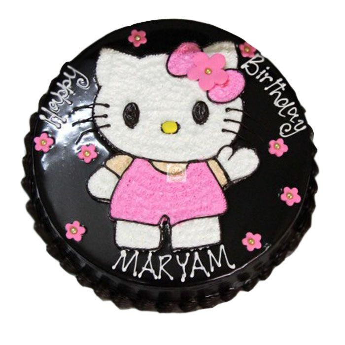 Hello Kitty Theme Cake
