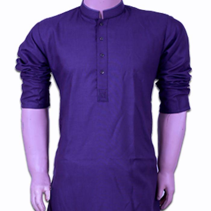 Purple Kurta Shalwar by Bonanza