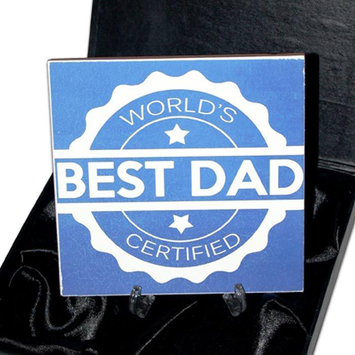 Worlds Best Dad Announcement