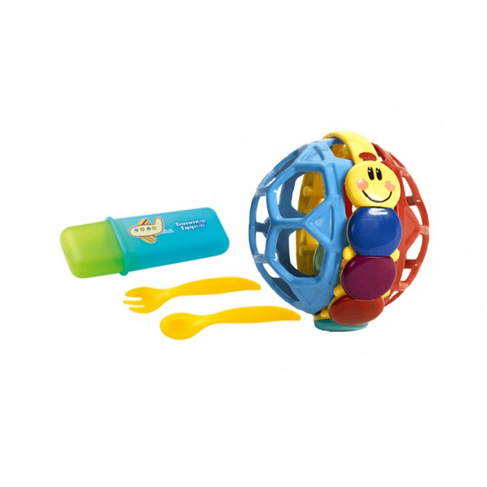 Travel Cutlery Set & Bendy Ball