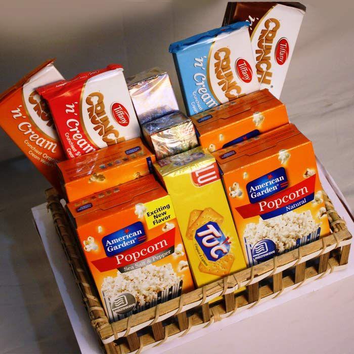 Basket of Munching Goodies