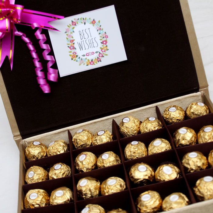 Ferrero Lovers Collection in Gold Box