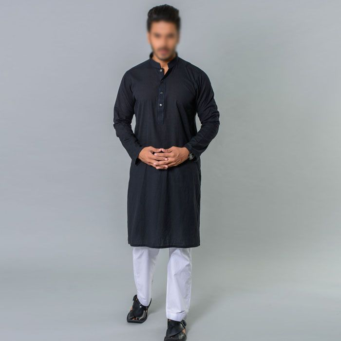 Black Kurta by Khaadi