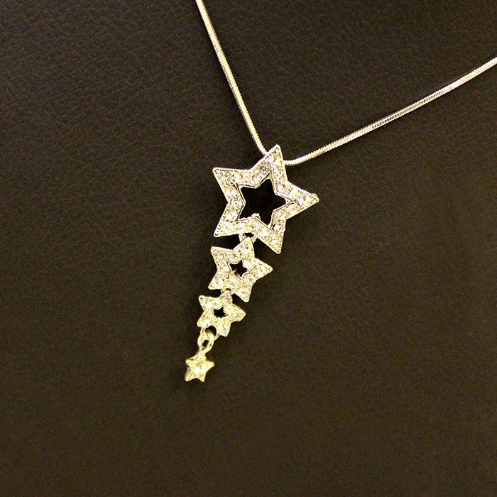 Star Line Necklace Set