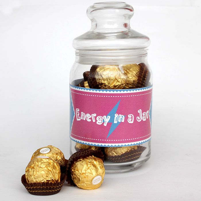 Energy in a Jar - Ferrero Love