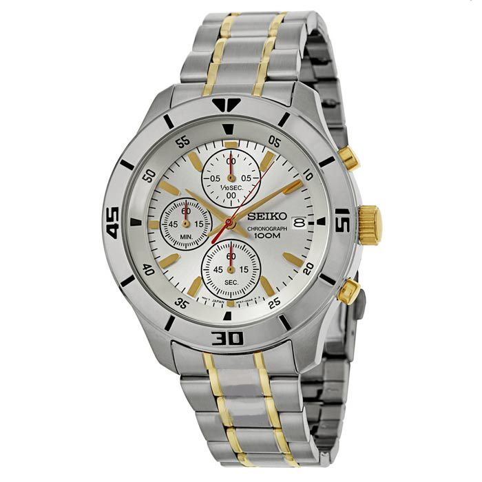 Seiko Womens Chronograph Watch