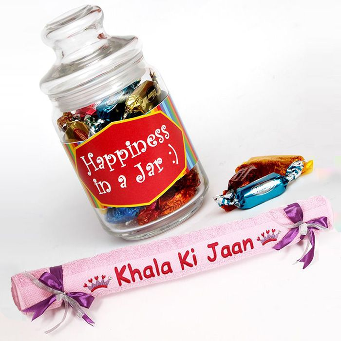 Happiness in a Jar with Khala ki Jaan Towel