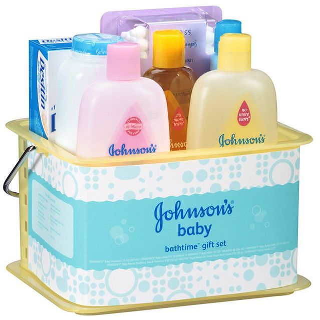 Johnson's and Johnson's Baby Gift Set