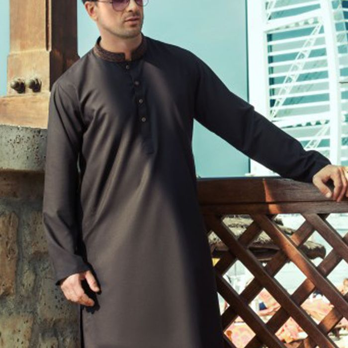 Dark Brown Kurta Shalwar