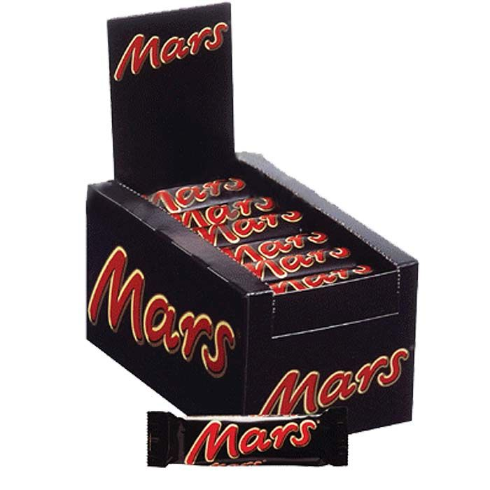 Mars Chocolate (24 Bars)
