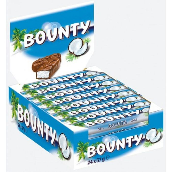 Bounty Chocolate (24 Bars)