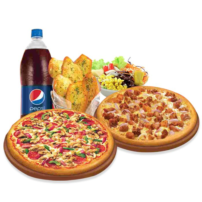 Regular Pizza Deal (2 Reg Pizza 9 Inch each,