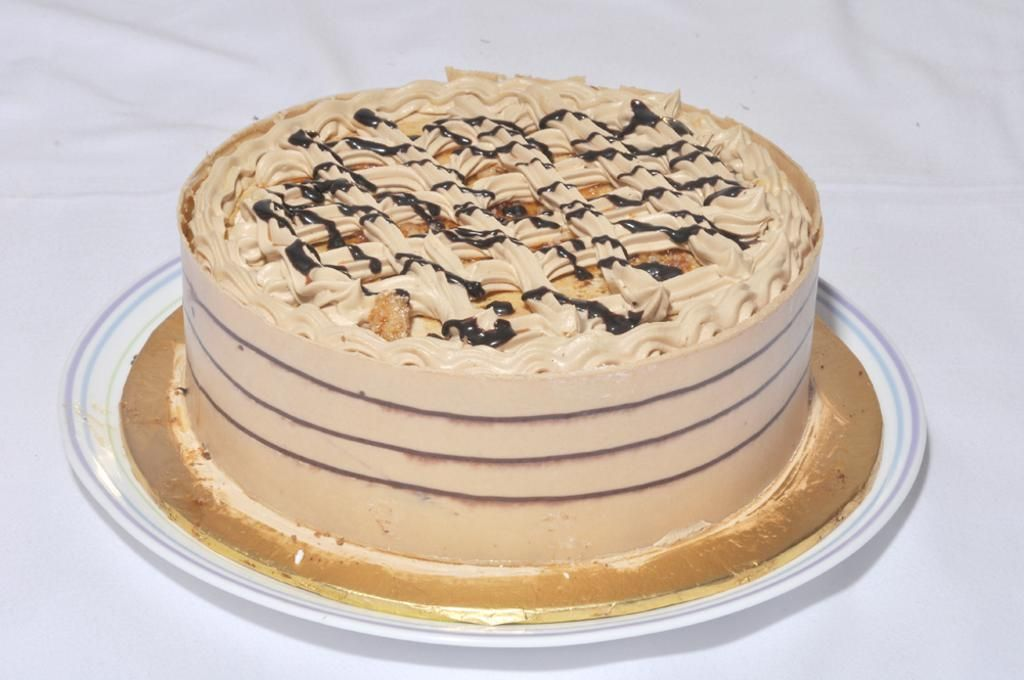 Coffee Crunch Cake From Hobnob Bakery
