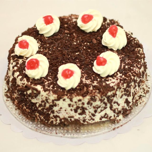 Black Forest Chocolate Cake From 5 Star Baker