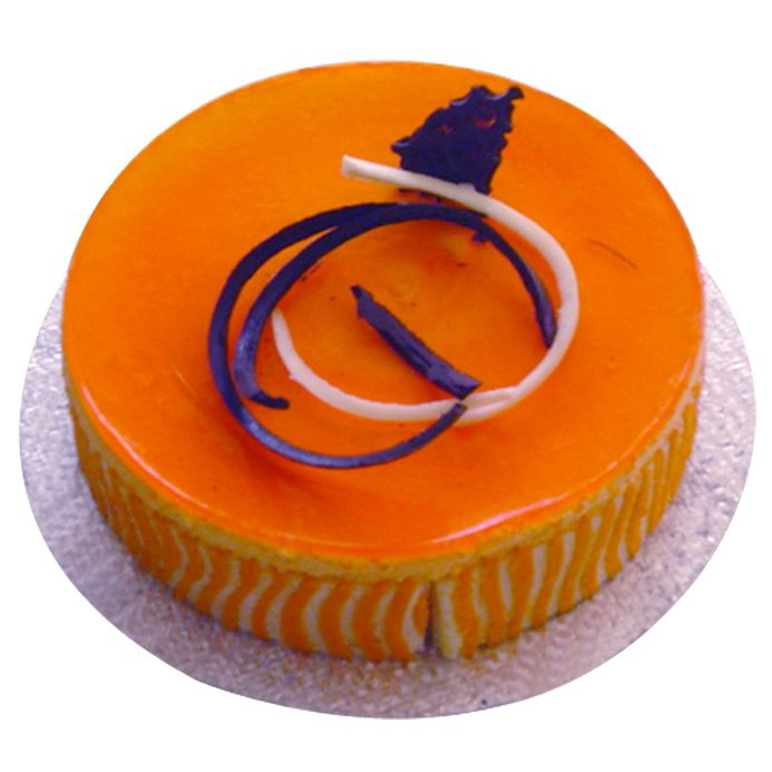 Orange Mousse Cake From 5 Star Bakery