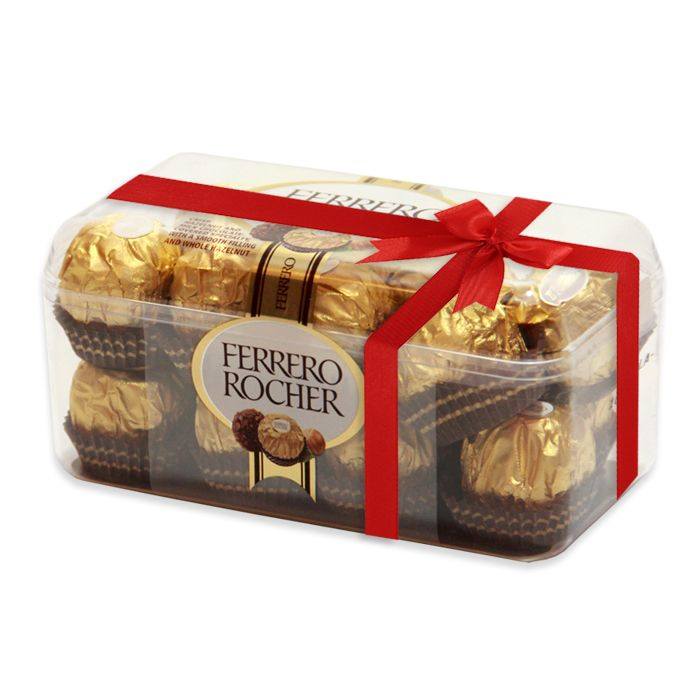 Ferrero Rocher Chocolate Box (16 Pcs)