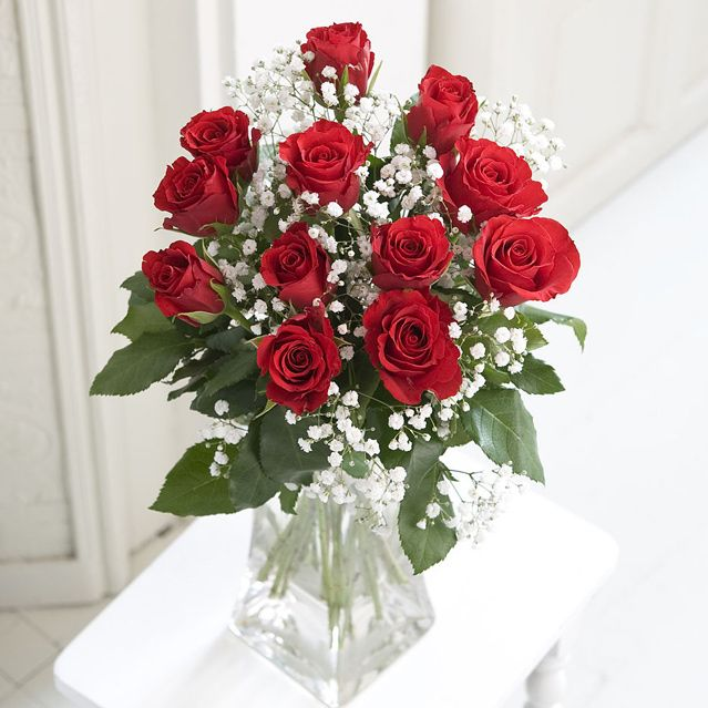 Bouquet Of Imported Red Roses