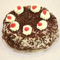 Black Forest Chocolate Cake From Bakery