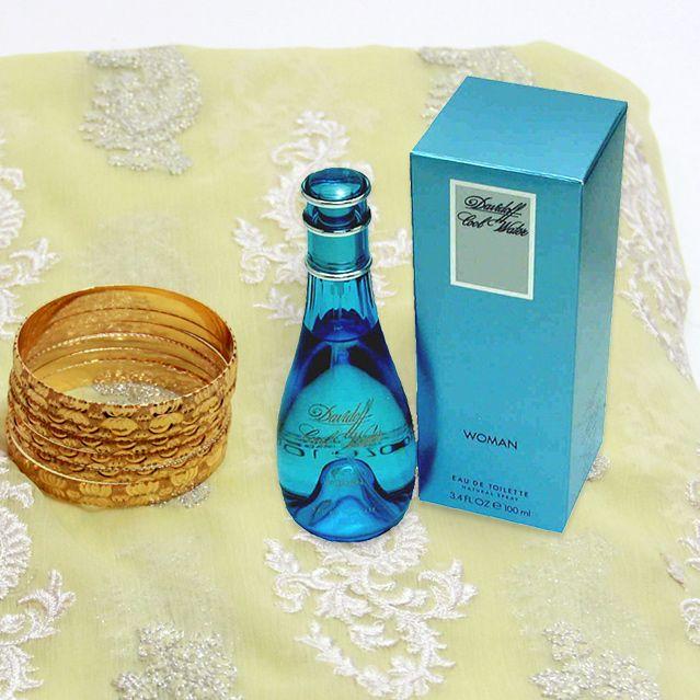 Suit with Perfume & Kangan Set