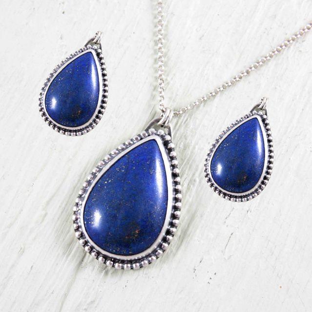 Lapiz Lazuli Heart