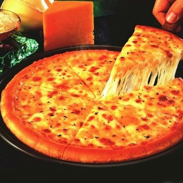 Cheese Lover Pizza With Drink
