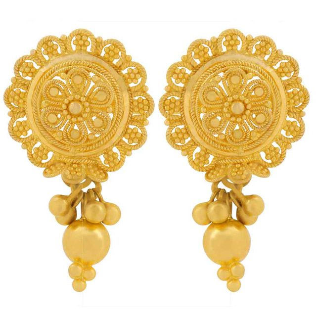 lucknow id pair gold rs earring aliganj at women bazar proddetail