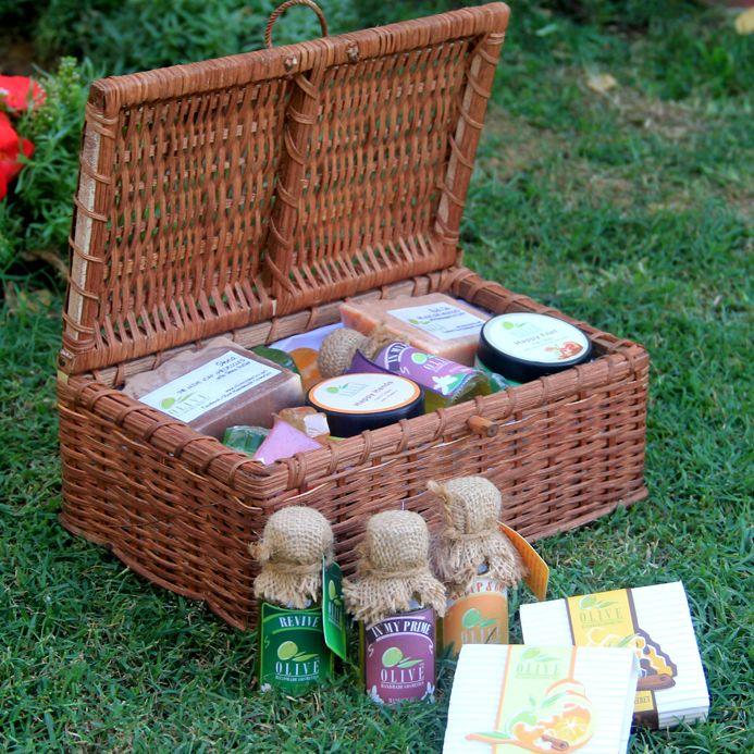 Bath Gift Basket 1 By Olive