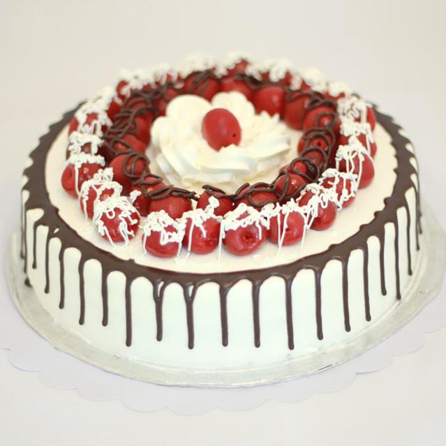 Italian Black Forest Cake From 5 Star Bakery