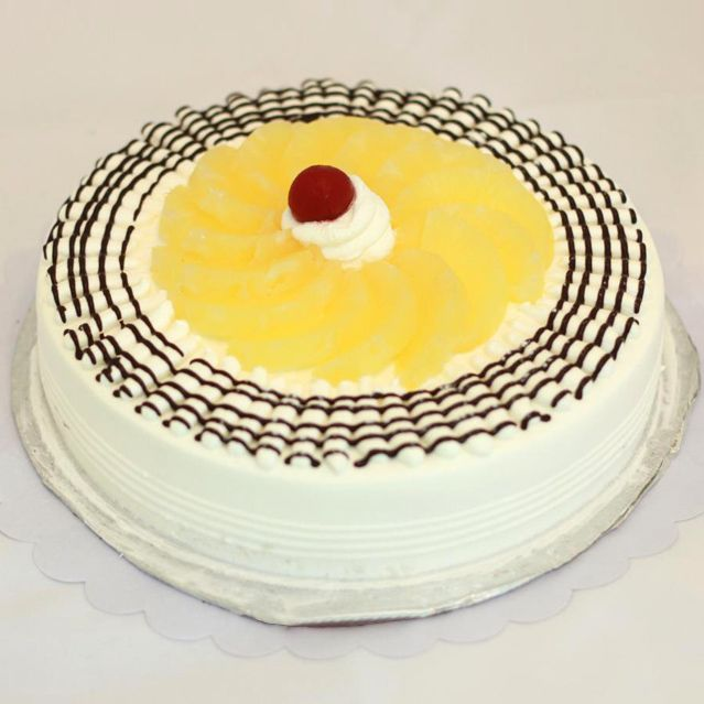 Pineapple Gateau Cake From 5 Star Bakery