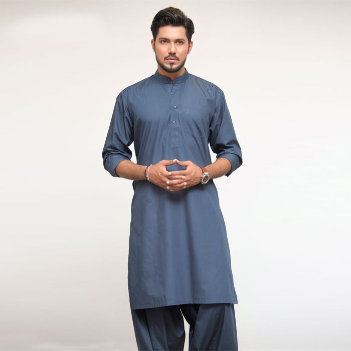 Blue Formal Kurta