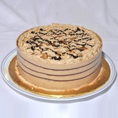 Coffee Crunch Cake From Bakery