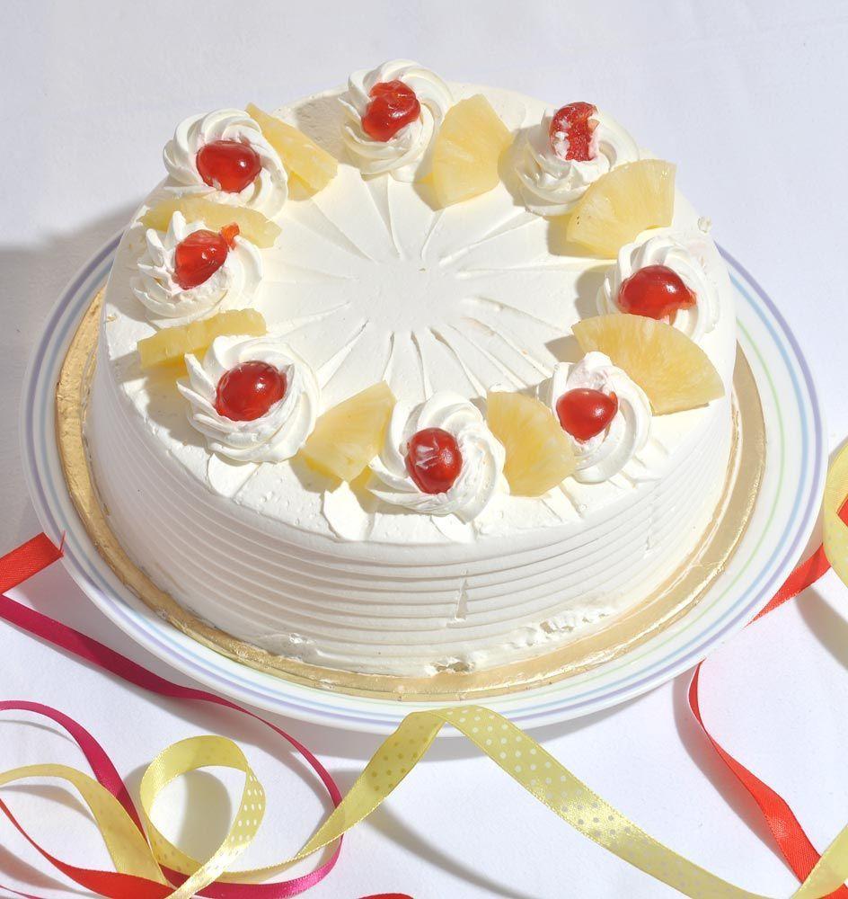 Pineapple Cake From Bakery