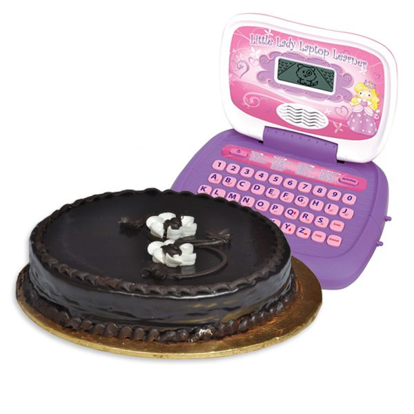 Cake with Laptop Learner