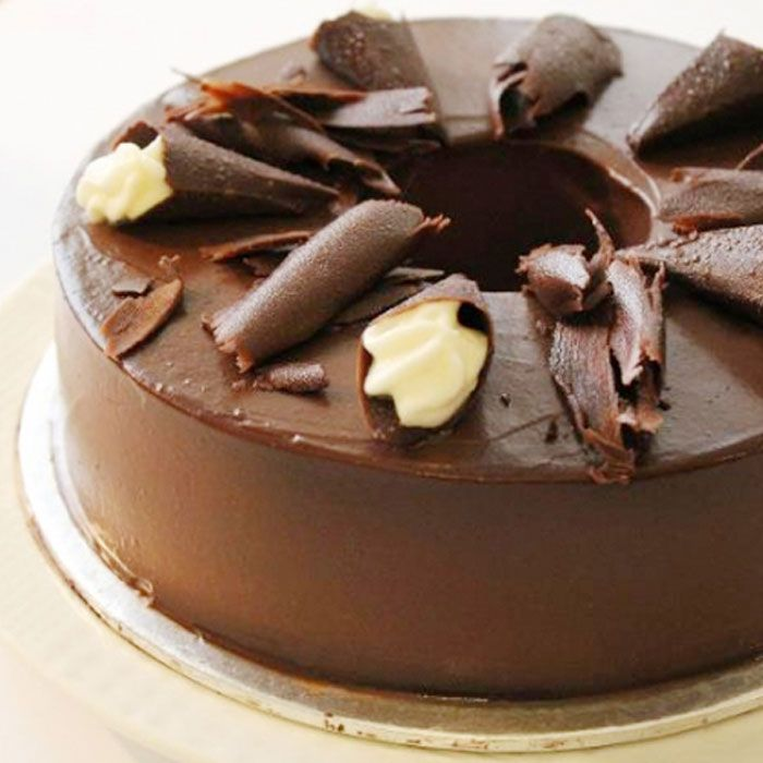 Dark Chocolate Cake From Kitchen Cuisine
