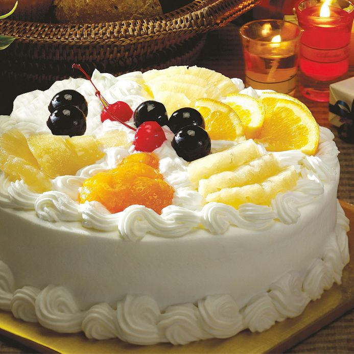 Mixed Fruit Cake From Kitchen Cuisine