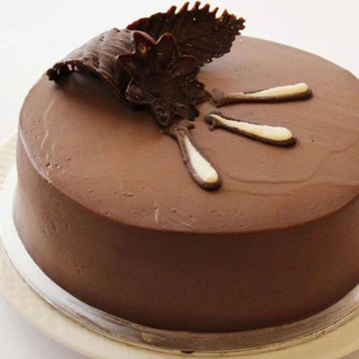 Chocolate Mousse Layer Cake - Kitchen Cuisine