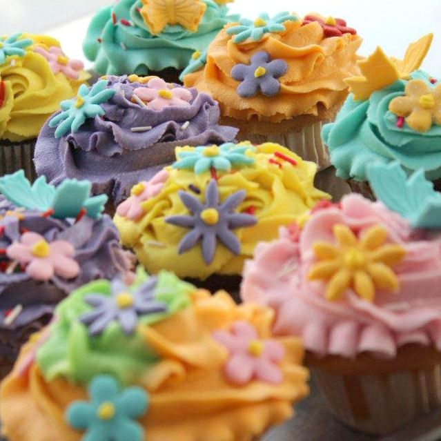 Party Princess  Cup Cakes From Kitchen Cuisin