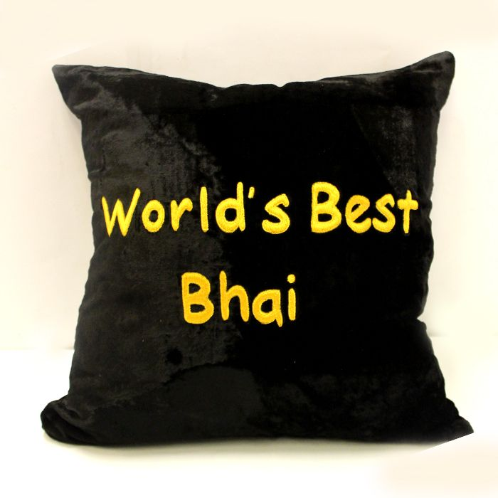 World Best Bhai Cushion