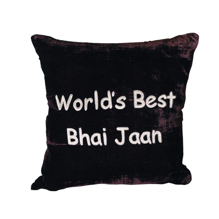 World's Best Bhai Jaan Cushion