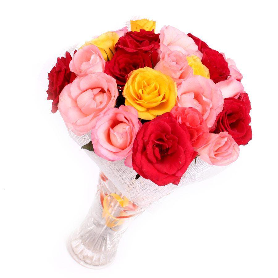 2 Dozen Mix Roses